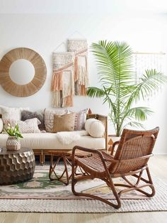 Bridgid Lounge Chair, Chestnut - Home Design Boho Living Room, Living Room Decor, Bedroom Decor, Bedroom Bed, Coastal Living, Wall Decor, Wall Art, Living Room Furniture, Home Furniture