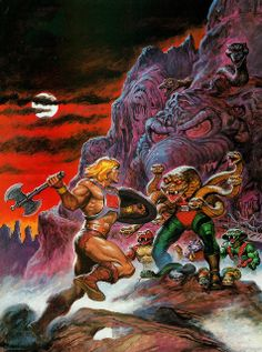 Masters Of The Universe - 11 (painting by Earl Norem) by Aeron Alfrey, via Flickr