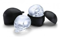 skull ice cube mold http://www.amazon.com/Think-Geek-Makes-Skull-Molds/dp/B00Q03HCOS