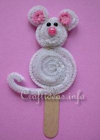 mouse craft/ st martin de porres