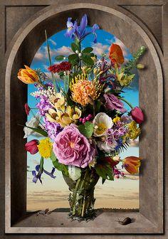 Still Life with Flowers (after Ambrosius Bosschaert)