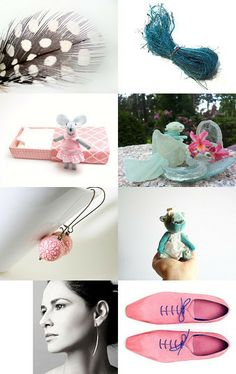 Pastel Spring by Ale on Etsy--Pinned with TreasuryPin.com
