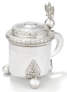 A Fabergé Imperial Presentation silver tankard, Stefan Väkevä (Wäkevä), St Petersburg, 1899-1904 - Sothebys