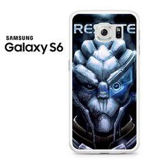 Mass Effect 3 Garrus Facr Respite Samsung Galaxy S6 Case