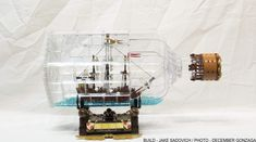 LEGO Ideas - Blog - 10K Club Interview: Meet Jacob Sadovich of Ship In A Bottle, The Flagship Leviathan