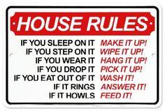 Roommate Rules