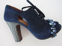antique costume jewellery and Chie Mihara shoes