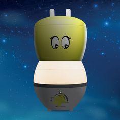 GotaKid, Humidificateur d'air à brumisation pour enfant (technologie ultrasonique) avec veilleuse intégrée, AIR NATUREL & PABOBO