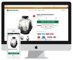 Tema Shopify Ecom Turbo no Mercado Livre Brasil Best Shopify Themes, Ecommerce Seo, Private Facebook, Drop Shipping Business, Themes Free, Seo Tools, Printed Sweatshirts, Decoration, Wordpress Theme