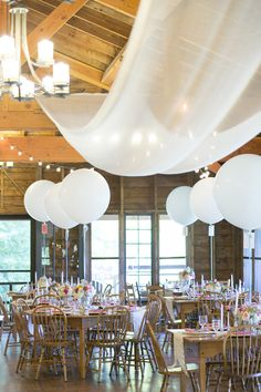 #draping  Photography: Lindsay Flanagan Photography - lindsayflanagan.com  Read More: http://www.stylemepretty.com/new-england-weddings/2014/02/24/vermont-wedding-at-ohana-family-camp/