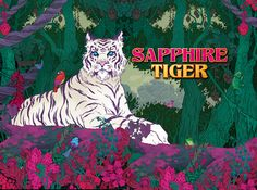 Have you heard the legend of the Sapphire Tigers? Embark on an adventure to find them, we guarantee they will be the most beautiful animals you've ever seen. #34443reelmatrix #576waystowin #semistackedmajors #righttoleftpays #slots #games #High5Casino
