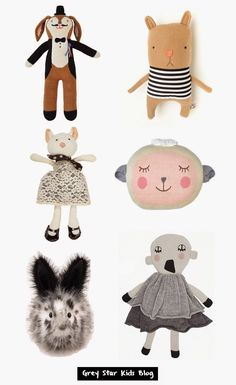 Grey Star Kids Blog // Soft Toys
