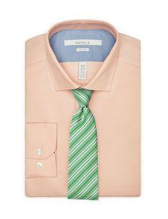 Skinny Striped Green Tie
