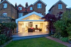 Plus Rooms|Experts in London Kitchen Extensions, Loft Conversions and Refurbishments House Extension Plans, Extension Designs, Glass Extension, House Extension Design, Roof Extension, Extension Ideas, Extension Google, Building Extension, Roof Design