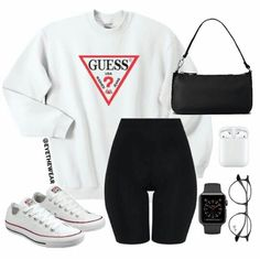 No photo description available. Cute Lazy Outfits, Cute Swag Outfits, Edgy Outfits, Retro Outfits, Teenager Fashion Trends, Teen Fashion Outfits, Look Fashion, Girl Outfits, Sport Outfits