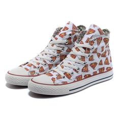 White High Tops Converse All Star Superman LOGO Printed Canvas ($58) ❤ liked on Polyvore
