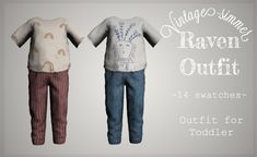 Toddler Cc Sims 4, Sims 4 Toddler Clothes, Sims 4 Cc Kids Clothing, Sims 4 Mods Clothes, Sims Mods, Toddler Boy Outfits, Kids Outfits, Sims 4 Children, 4 Kids