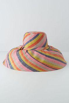 Anthropologie- Tortola Floppy Hat. Ugh! So want this!