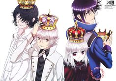 Immagine di red king, blue king, and k return of kings