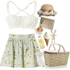 summer 2016 aesthetic by naughty-nymphets on Polyvore featuring Monsoon, Crate and Barrel, Bormioli Rocco, Andy Warhol, fairy, ethereal and nymphet