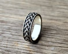 Norse Viking Mens Ring Scandinavian Norse Jewelry by WearTheRare