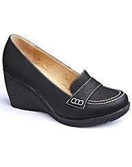 loafer wedges
