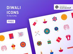 Diwali is here and so does our icons! Get latest Diwali icons now absolutely for FREE!! #freebies #diwali #icons #celebration #festival #crackers #diwaliicons #decoration