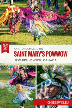 We attend our first powwow at the Saint Mary's First Nation in Fredericton, New Brunswick, Canada and discover a celebration of life, the earth, and diversity. New Brunswick, Slow Travel, Family Travel, Acadie, Discover Canada, Canada Destinations, Canadian Travel, Visit Canada