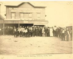Electra, TX townsite opening October 23 - 26, 1907 Wichita Falls, Central Texas, October 23, Old West, Westerns, Survival, Memories, History, Places
