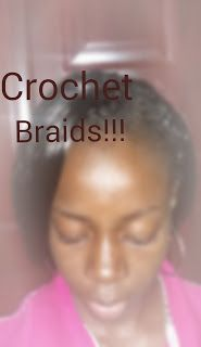 Moma's Healthy Hair Journey: Crochet Braids In!!!