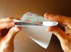 Beautiful Origami Envelope - Folding Instructions and Video Origami Envelope, Square Envelopes, Mail Art, Pinwheels, Girl Scouts, Paper Design, Homemade Gifts, Make It Simple, Clothing Packaging