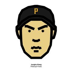 #pittsburgh #pittsburghpirates #jungho #junghokang #MLB #faceicon #jeansk