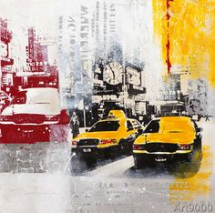 New Life Collection - Yellow Cab I
