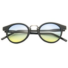 c082a2a2028 KYME SUNGLASSES - Frank Sunglasses Yellow and Blue Lenses Reception Food