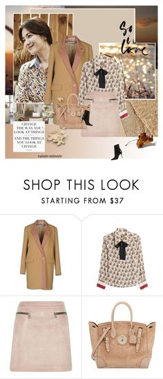 """Evening Autumn"" by rainie-minnie ❤ liked on Polyvore featuring Mauro Grifoni, Philosophy di Lorenzo Serafini, River Island, Ralph Lauren, Current Mood and Manolo Blahnik"