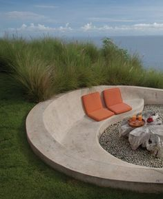 Outdoor Concrete Bench 2014