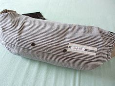 BABY CARRIER BAG--For Ergo Baby,Tula,Mei Tai,Beco,Boba,Manduca,Case,Grey White Stripes,Storage of Baby Carrier on Etsy, $26.90