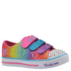 Skechers TT Shuffle Brights (Girls' Toddler-Youth) PYaeKEKS