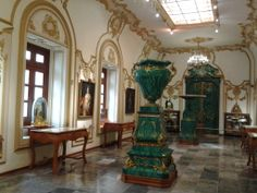 Luxurious rooms at Chapultepec Castle