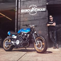 Scoop: a killer new Yard Built custom from Yamaha Europe, this time an XJR1300 built by Keino Cycles. Dig?