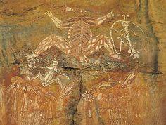 Lajja Gauri. Australia.Neolithic   rock painting. Neolithic …   Flickr