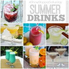 Summer Drinks with SimplyGloria.com #ShowStopperSaturday
