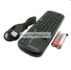 2.4G Wireless KP-810-19 Fly Air Mouse Mini Keyboard with LED light + Touchpad