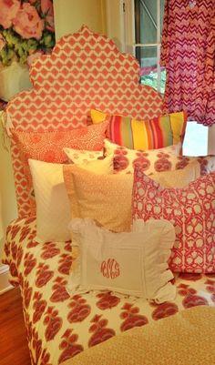 John Robshaw Bed @Cameron Daigle Blazer Chic