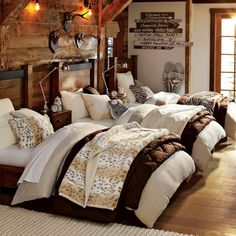 Winter home decoration ideas 08 ~ Popular Living Room Design Teen Bedroom, Bedroom Decor, Bedrooms, Bedroom Ideas, Winter Bedroom, Summer Bedroom, Winter Home Decor, Rugged Style, Western Decor