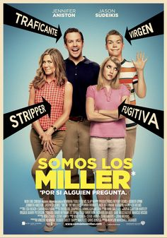 Jennifer Aniston & Jason Sudeikis: 'We're The Millers' Poster!: Photo Jennifer Aniston, Jason Sudeikis, Emma Roberts, and Will Poulter pose a fake family in the poster for their film We're The Millers, in theaters August Here's… Funny Movies, Comedy Movies, Hd Movies, Watch Movies, Funniest Movies, Movies 2014, Movies Free, Popular Movies, Streaming Hd