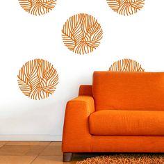 Leaf Pattern Wall Sticker