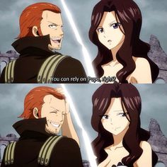 Cana and Gildarts | Father Daughter | Fairy Tail