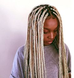 Why I Gave In and Got Box Braids After I Swore I Never Would  Read the article here - http://www.blackhairinformation.com/by-type/natural-hair/gave-got-box-braids-swore-never/