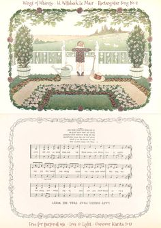1912 Henriette Willebeek Le Mair – Rectangular Songs – Wings of Whimsy